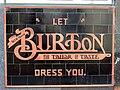 Burton sign, Burton's, Abergavenny, Monmouthshire.jpg