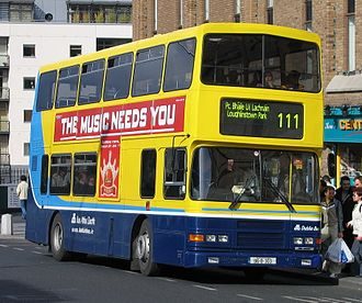Volvo Olympian - Dublin Bus RA-class Alexander bodied Volvo Olympian in Dún Laoghaire in May 2005