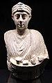 Busto funebre di un sacerdote, forse da oxyrhynchos (el-behnasa, egitto), III-IV sec..JPG