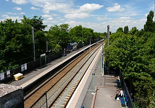 Butlers Lane railway station