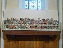 The Last Supper, in the church of Saint-Barnabé