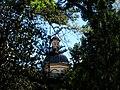 Cúpula de l'església de Sant Sebastià des del Jardí Botànic, València.JPG