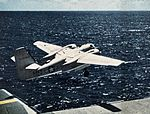 C-1A Trader takes off from USS Bennington (CVA-20) c1958.jpg