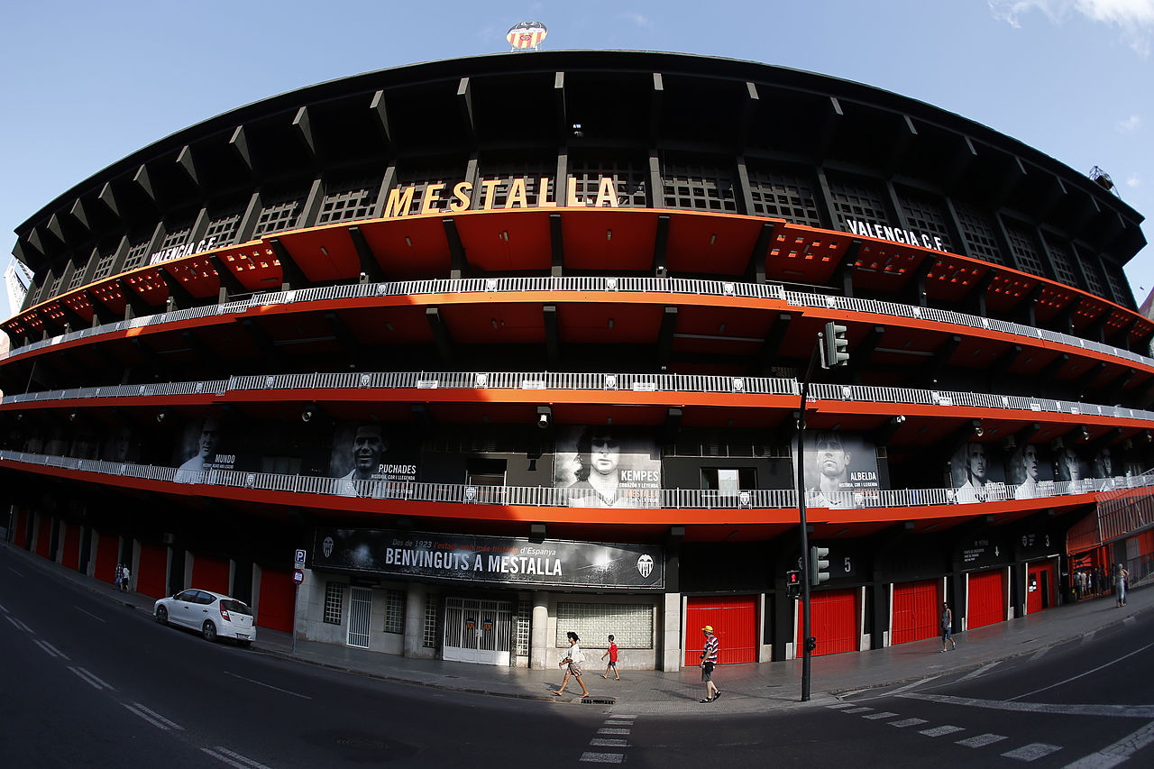 """Résultat de recherche d'images pour """"estadio mestalla"""""""