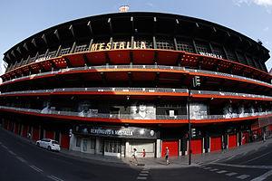 Mestalla Stadium - Image: CAMP DE MESTALLA 2014