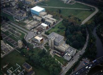 Centro Elettrotecnico Sperimentale Italiano - CESI Aerial view Milan Headquarters