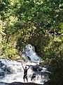 Cachoeira dos Pretos pequenas formações de quedas d'água totalizando154 metros de altura onde nasce o Rio Cachoeira. - panoramio.jpg