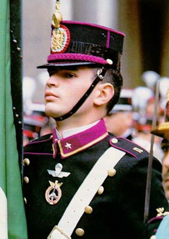 Military Academy of Modena - Student of the Academy in historical uniform