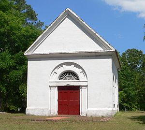 White Church - Image: Cainhoy St. Thomas Church 5