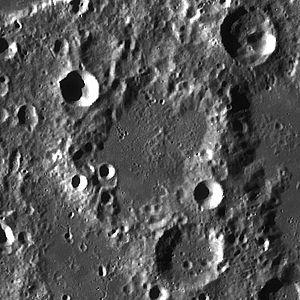 Cajori (crater) - Image: Cajori LROC