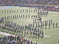Cal Band performing pregame at 2008 Big Game 16.JPG