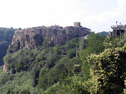 Calcata – Panorama