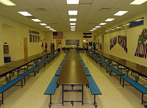 Calhan Colorado High School Cafeteria by David Shankbone