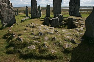 Callanish Stones - Chambered tomb