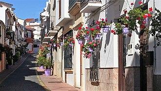 Estepona - Calle Papuecas - Estepona Garden of the Costa del Sol.