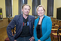 Callum Keith Rennie and Kari Skogland 2011.jpg
