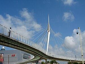 Santiago Calatrava - Calatrava bridge in Petah Tikva, Israel (2005)