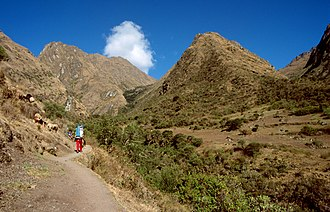 Warmi Wañusqa - Ascent to Warmi Wañusqa