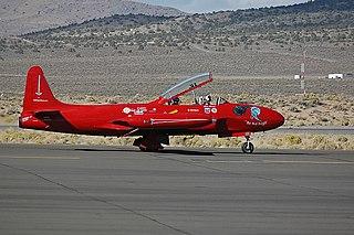 Canadair CT-133 Silver Star military training aircraft