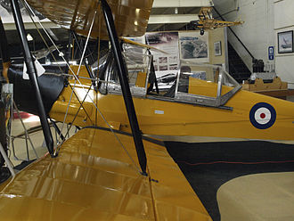 Canadian Air and Space Museum - Restored Tiger Moth on display
