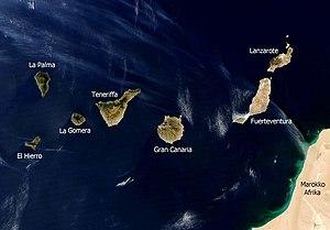 Geografía de Canarias