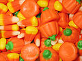 Candy corn and candy pumpkins closeup, October 2006.jpg
