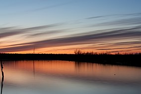 Cane Creek Lake in Cane Creek SP, Arkansas.jpg