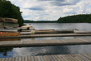 Canoe Lake (Nipissing District) - Image: Canoe Lake