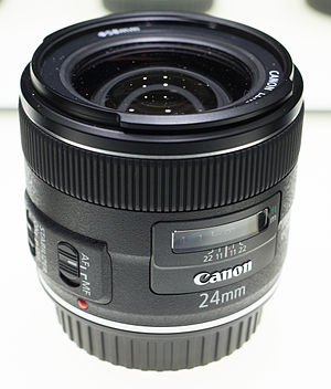 Canon EF 24mm lens - Image: Canon EF 24 IS USM