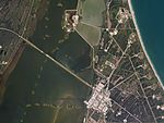 Cape Canaveral Air Force Station, Florida by Planet Labs.jpg