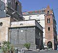 Cappella Pontano e campanile di S. Maria Maggiore (Napoli) - crop.jpg