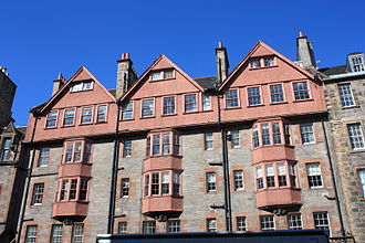 Stewart Henbest Capper - Capper block, Lawnmarket, Edinburgh