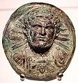Caracalla con le decorazioni militari, forse dai castra praetoria, bronzo, 212-217 ca.JPG