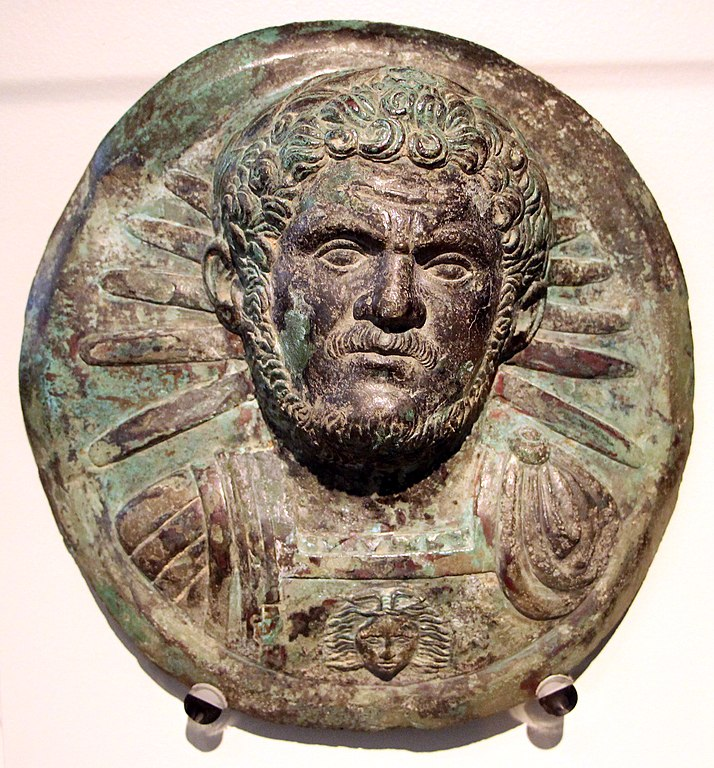 Bronze de Caracalla au Altes Museum de Berlin (212-217).