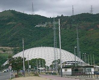 Poliedro de Caracas - The exterior of Poliedro de Caracas.