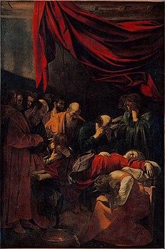 morte della vergine caravaggio wikipedia