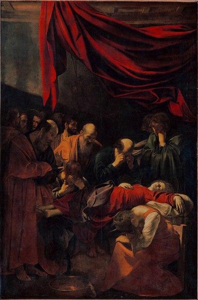 Fichier:Caravaggio - La Morte della Vergine.jpg