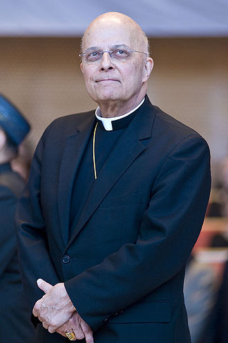 Francis George - Cardinal George at the May 2011 inauguration of Mayor Rahm Emanuel