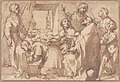 Cardinal Paolo Sfondrato Kneeling Before Saint Cecilia, Accompanied by other Saints MET 1990.133.jpg