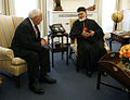 Cardinal Sfeir Dick Cheney 20060718.jpg