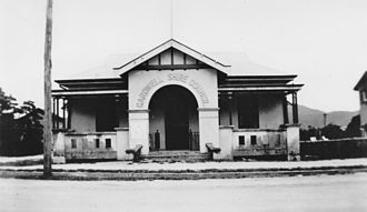 Tully, Queensland - Cardwell Shire Council Chambers in Tully, 1930