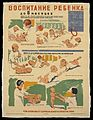 Care of babies from 1 to 6 months old. Colour lithograph Wellcome L0050899.jpg