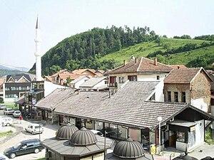 Gornji Vakuf-Uskoplje - Image: Carsija Gornji Vakuf