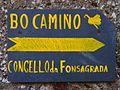 Cartel Camiño de Santiago, O Padrón, A Fonsagrada.jpg