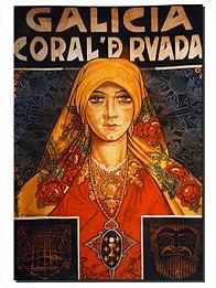 Cartel Coral de Ruada por Camilo Díaz