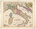 Cartografie in Nederland, kaart van Italië, NG-501-51.jpg