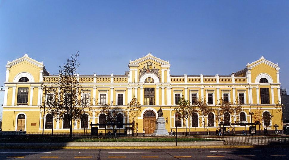 Casa Central de la Universidad de Chile