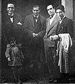 Castelao, Seoane, Eiroa e Cuadrado, Santiago de Compostela, 1932.jpg