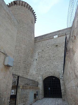 Oria, Apulia - The castle.