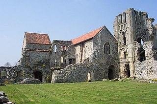 Castle Acre village in the United Kingdom